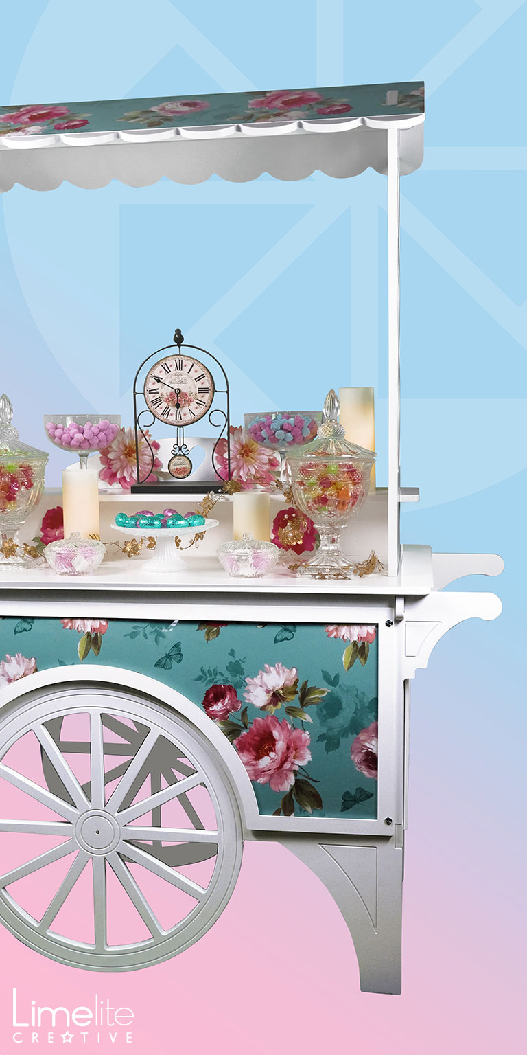 Product Shoot | Astrid Jensen Chic Candy Carts