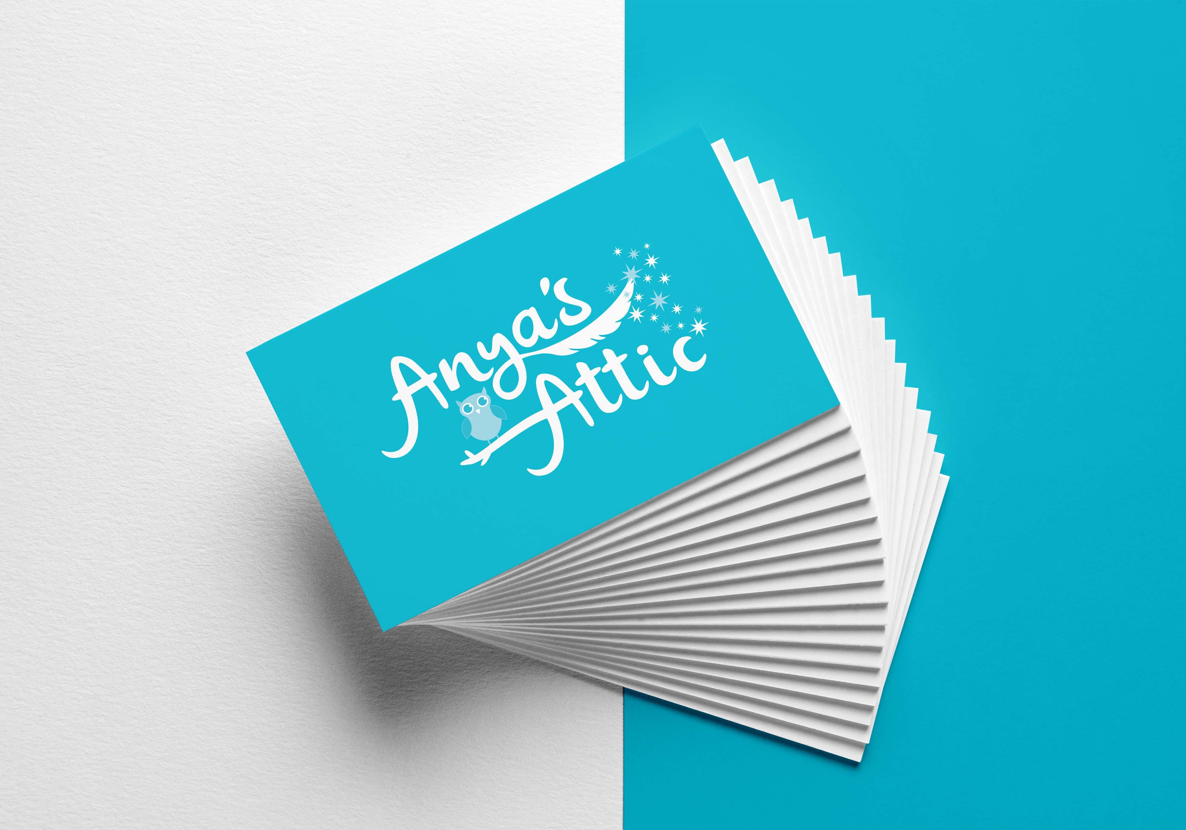 Anyas Attic Business Cards MockUp_2