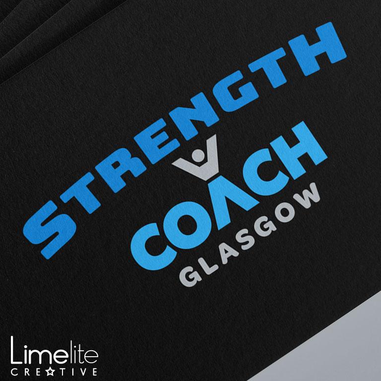 Logo Design | Strength Coach Glasgow