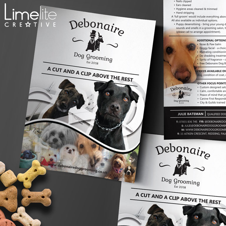 Branding Project | Debonaire Dog Grooming