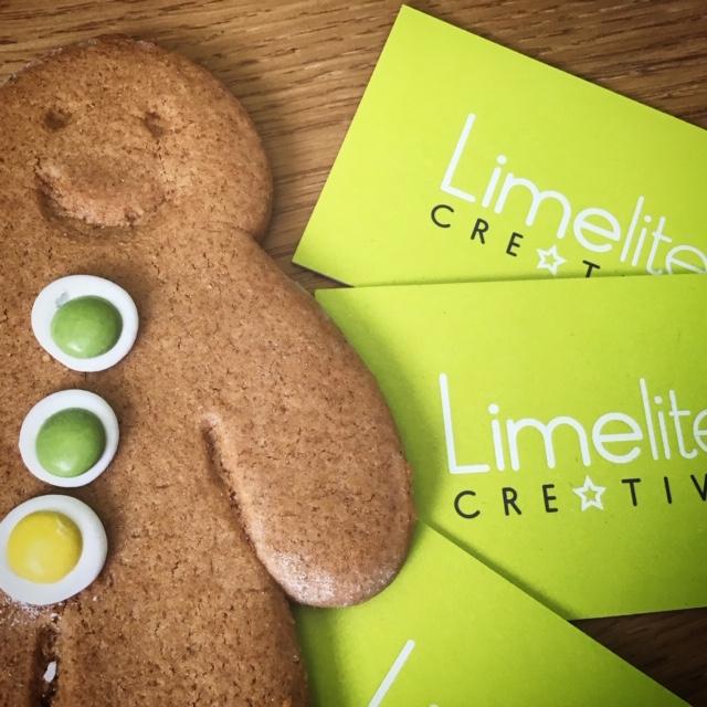 Limelite Creative business card design