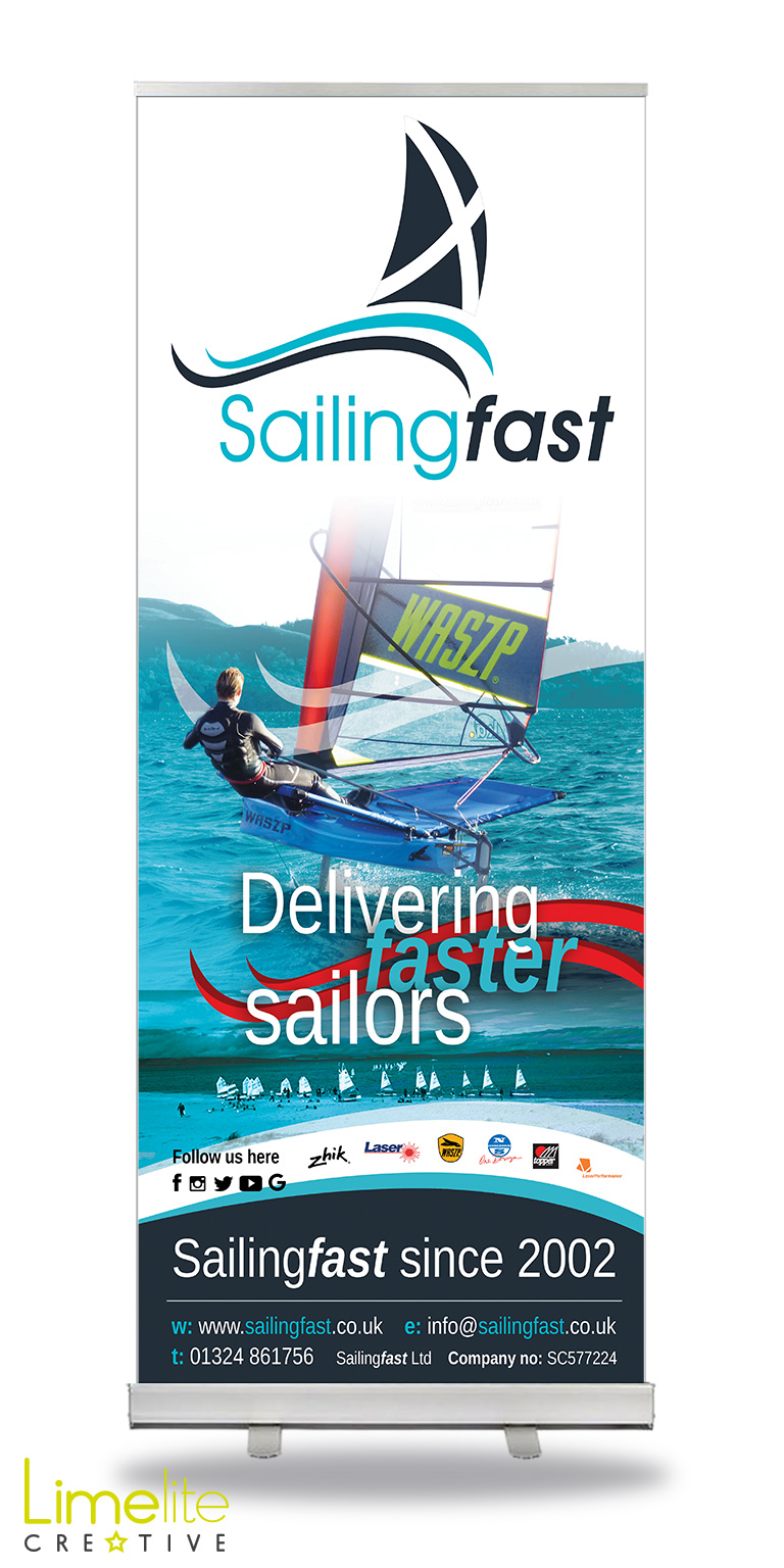 Pop-up Banner Design | Sailingfast