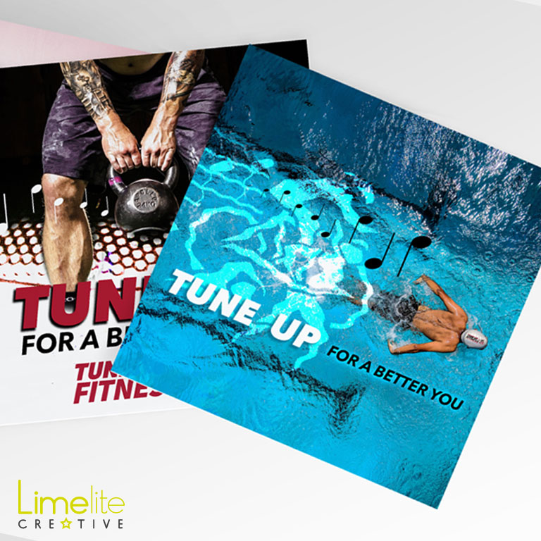 limelite creative tune up fitness professional marketing material