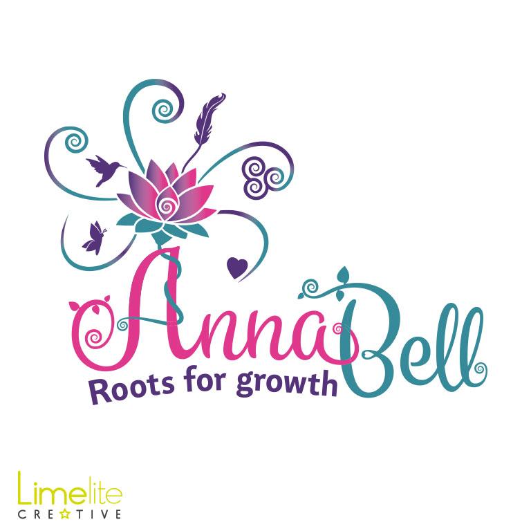 anna bell rebrand logo design limelite creative