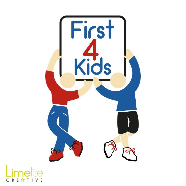 Logo Design Update | First 4 Kids