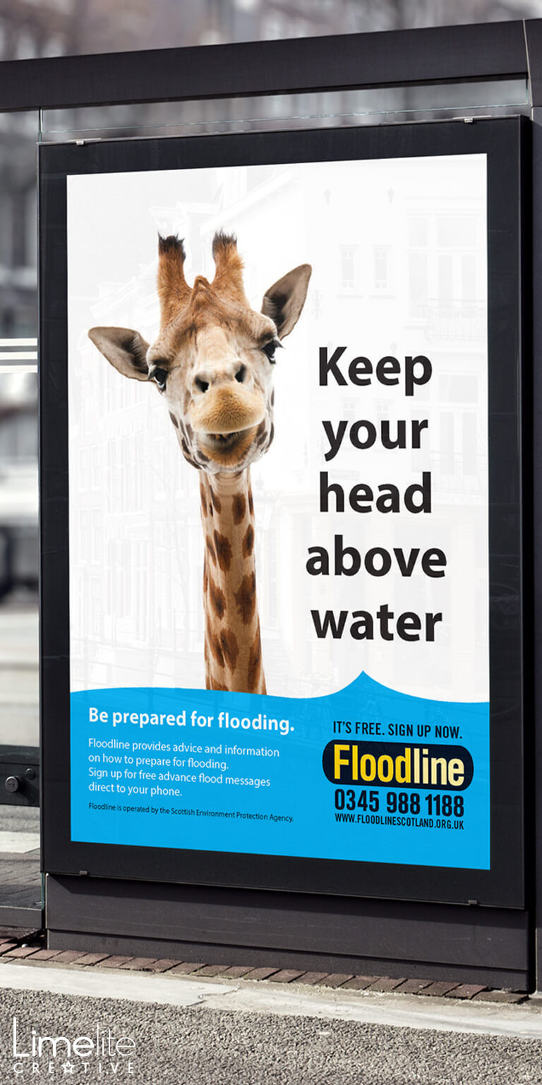 quirky design by limelite creative floodline scotland