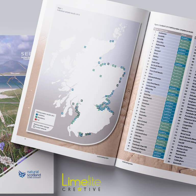 Publication Design | Scottish Environment Protection Agency