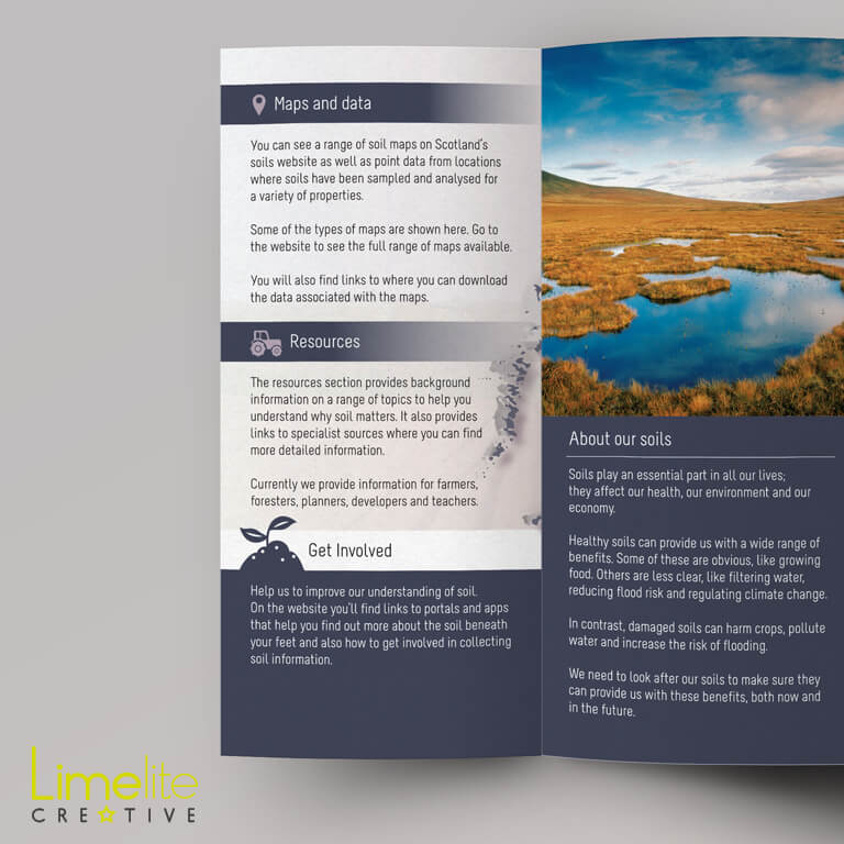 Leaflet Design | Scotland's Environment