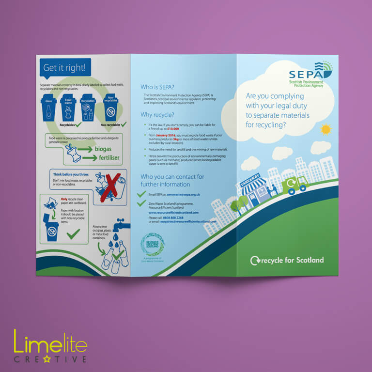 Leaflet Design | Scottish Environment Protection Agency