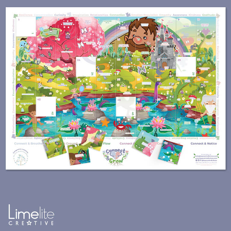 design for mindfulness in schools by Limelite Creative