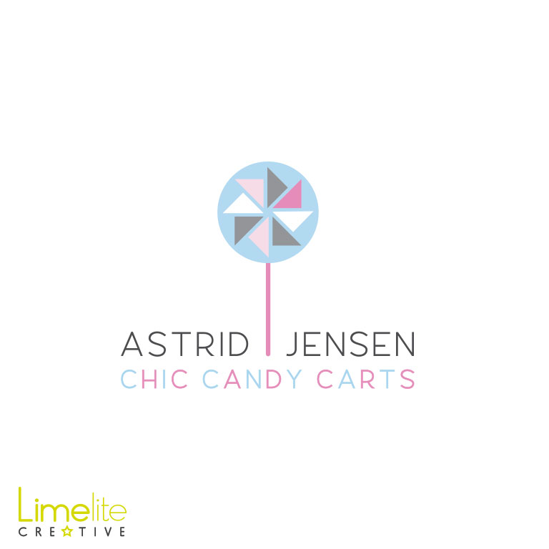 Logo Design | Astrid Jensen Chic Candy Carts