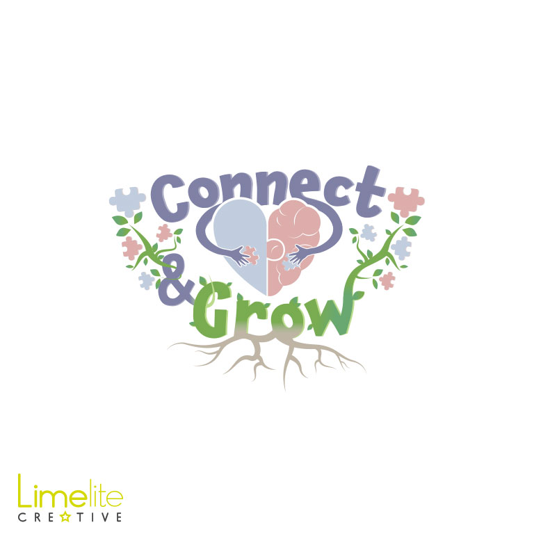 Logo Design | Be You Mindfulness | Connect & Grow©