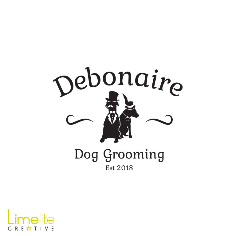 Logo Design | Debonaire Dog Grooming