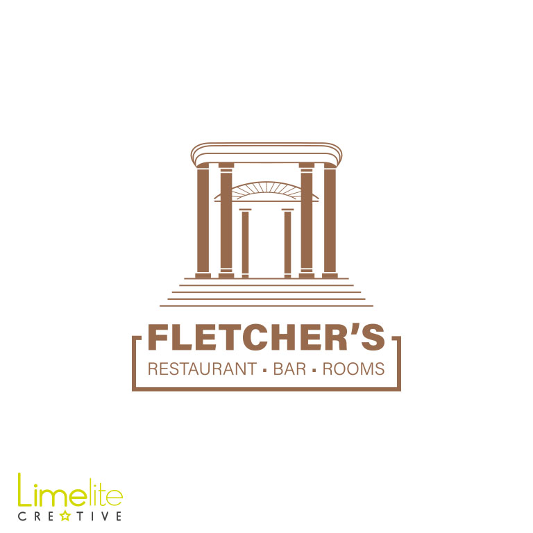 Logo Design | Fletcher's – Restaurant • Bar • Rooms
