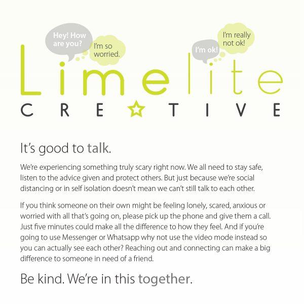 covid19 limelite creative talk
