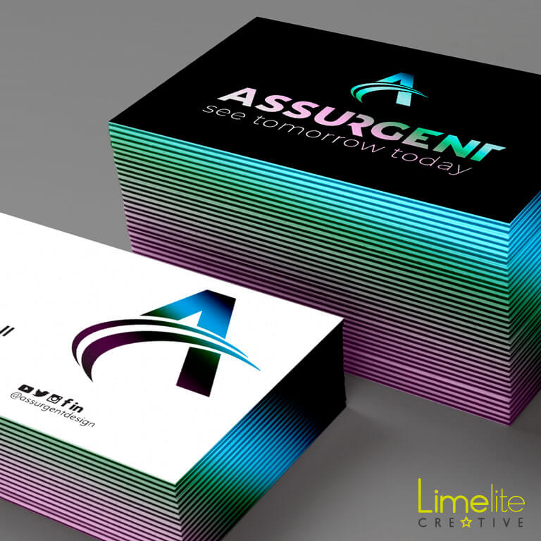 Design for Print | Assurgent Design Limited